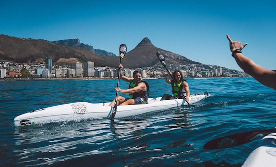 Kayaking with Dolphins: An Atlantic Outlook Experience at the V&A Waterfront