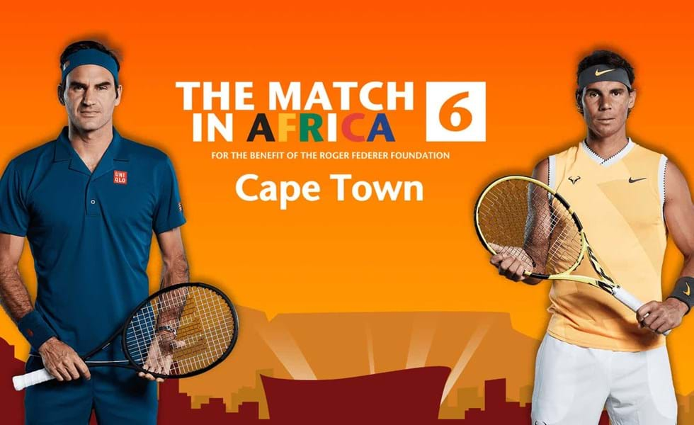 Cape Town Events, Best of the Best promotion, Cape Grace, The Match in Africa 6, Roger Federer